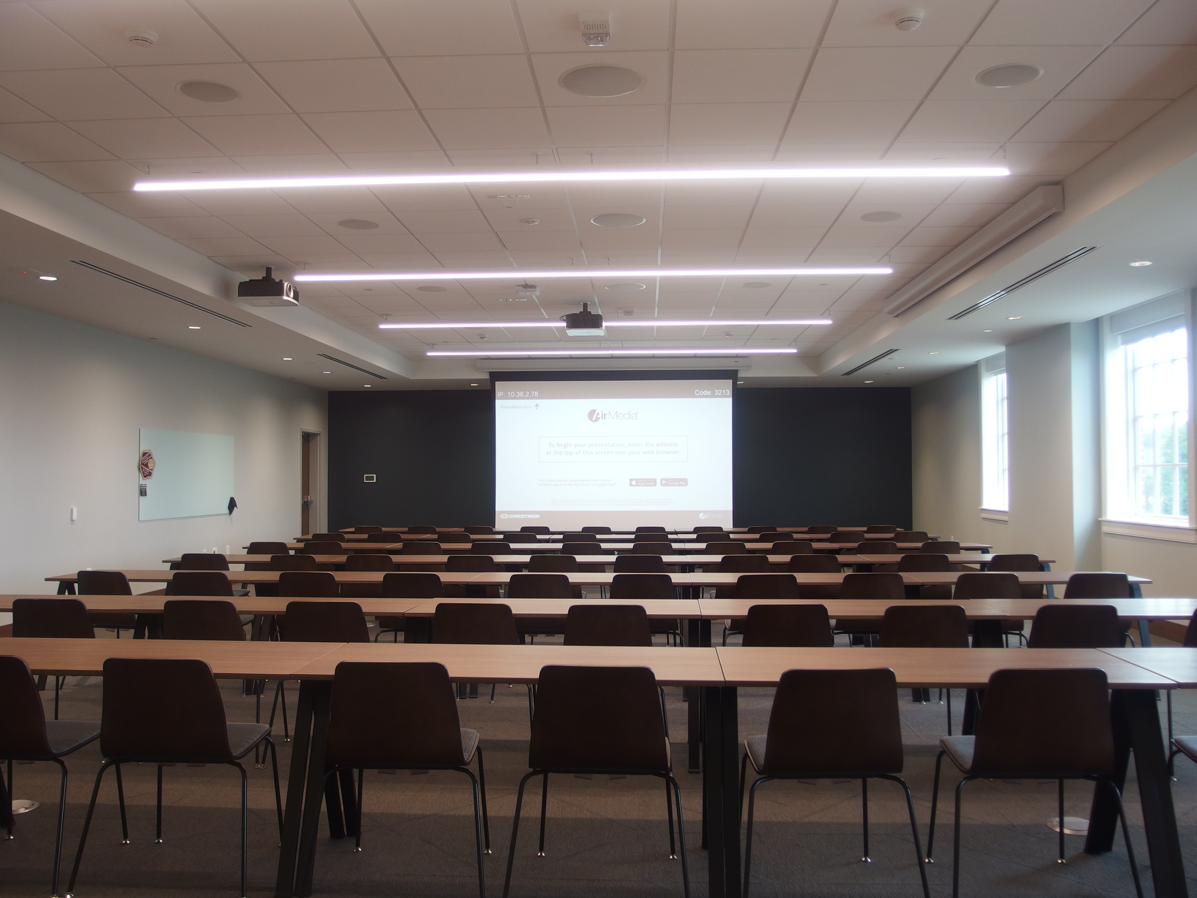 Picture of Sankey 208 from the back of the room