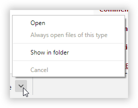 This image shows the arrow symbol reference in this step. The mouse icon is hovering over it.