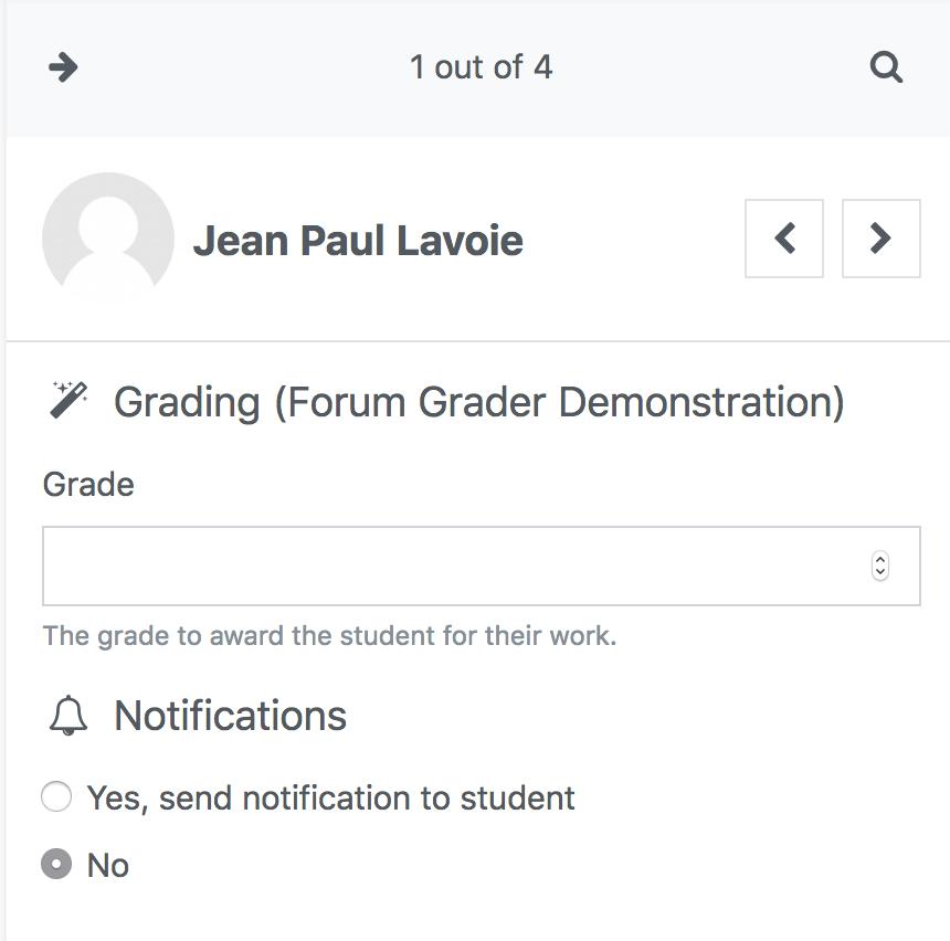 student grading
