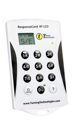 TurningPoint LCD clicker with 1-year license bundle