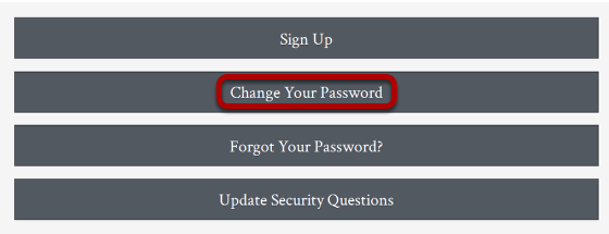 Click Change your Password to change your password