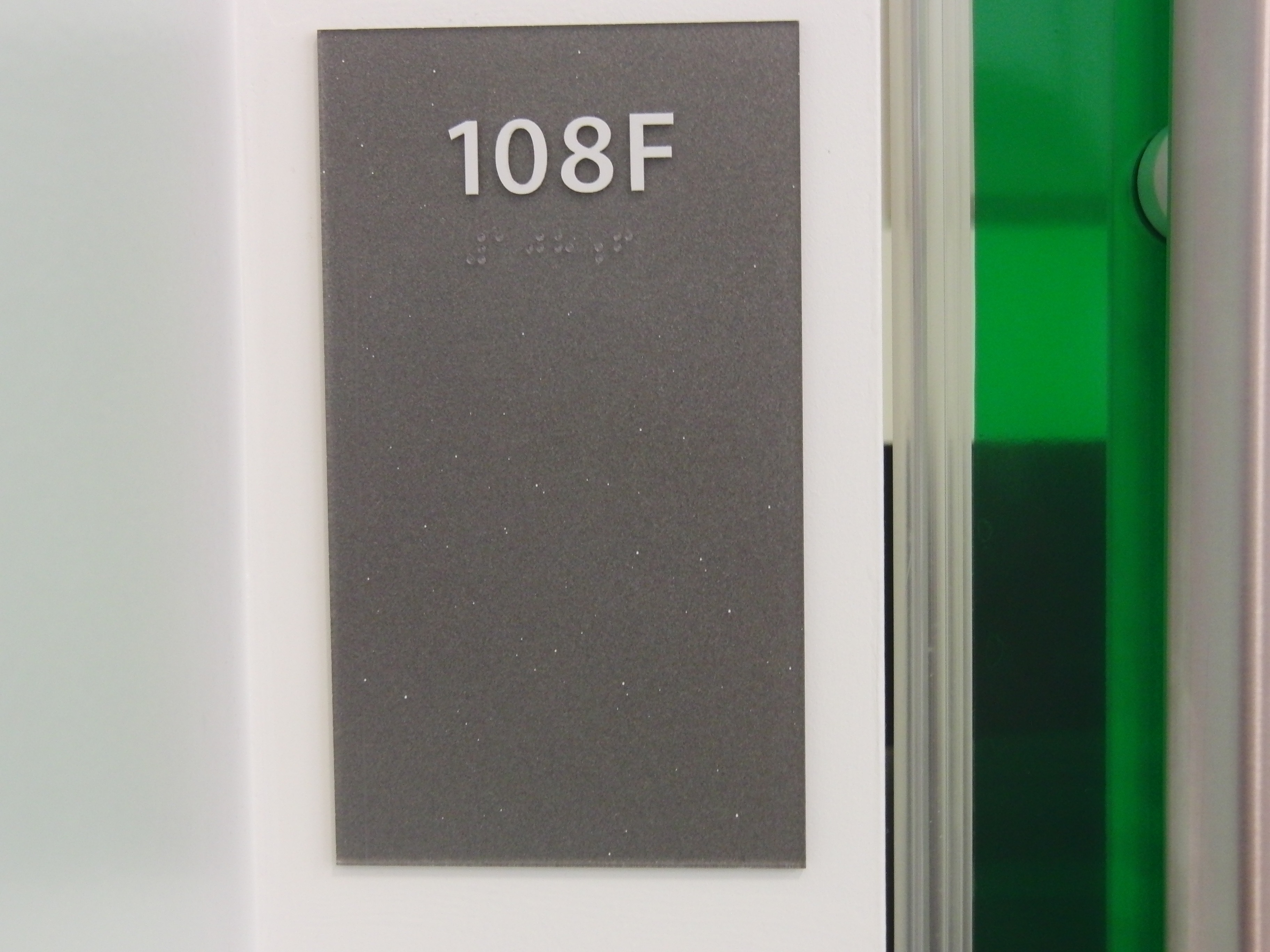 Photo of the Long 108 F room number