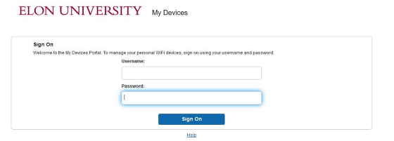 An image of the elonu-connect login page.