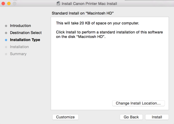This is another installer step. Click Install.