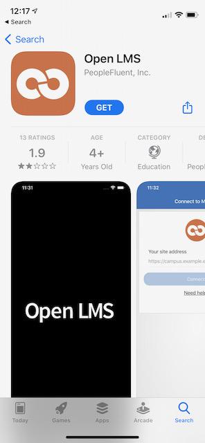 Open LMS App store