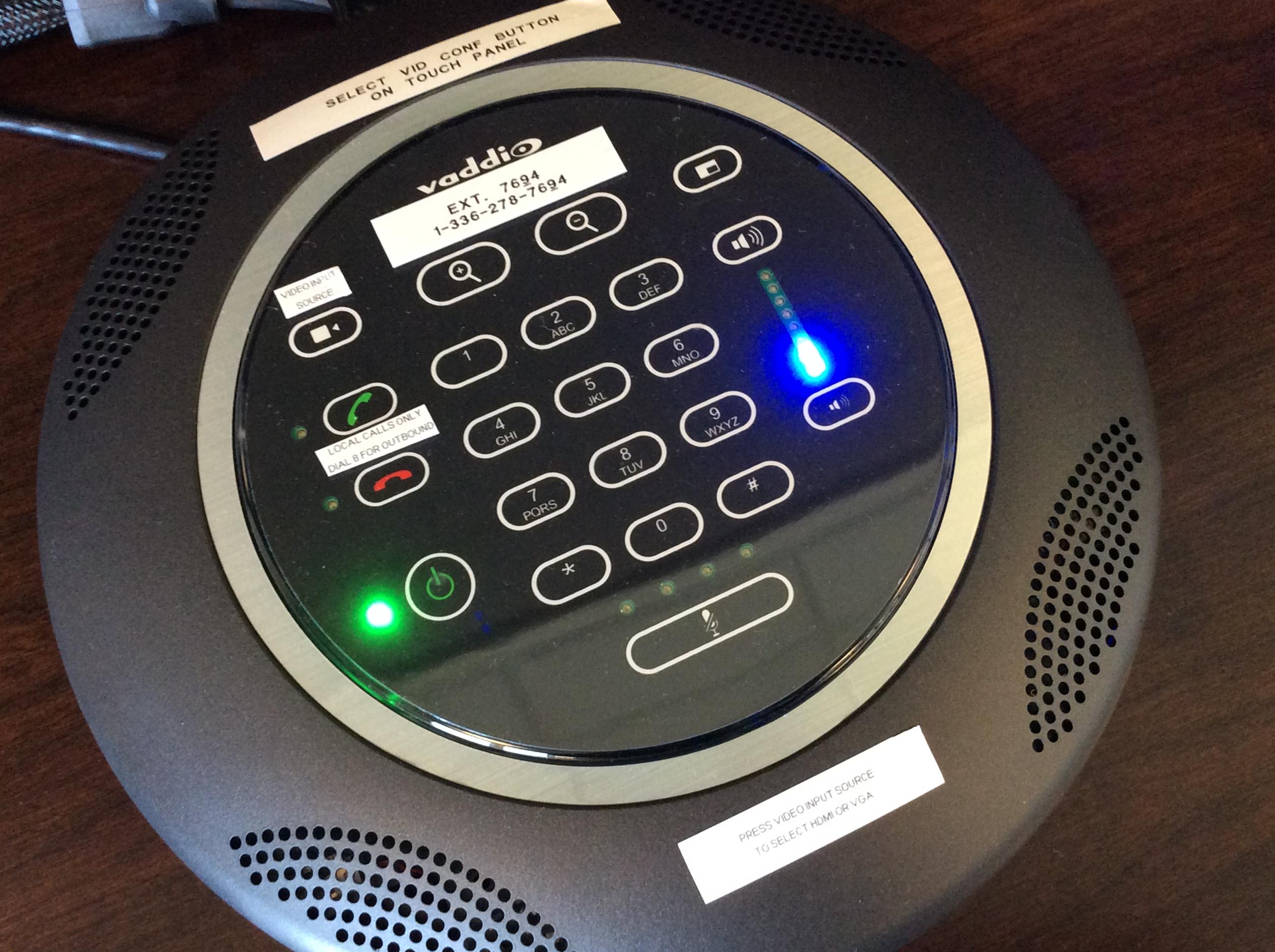 Photo of vaddio dialer device