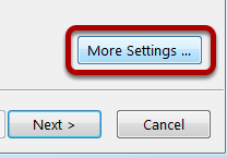 An image of the more settings button, circled.