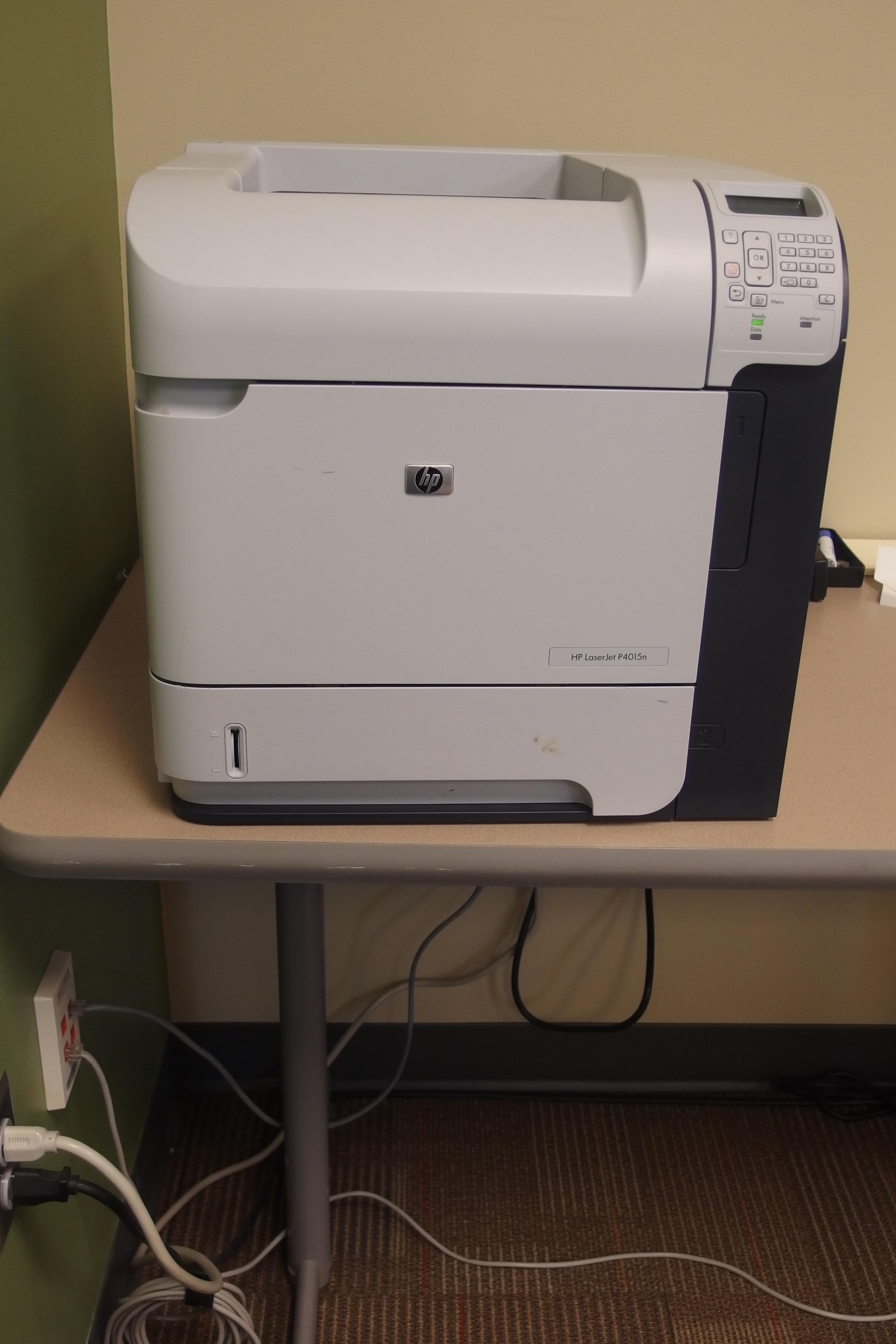 Photo of HP laster printer
