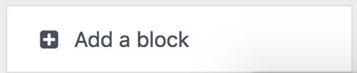 add a block