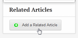 An image of the related articles button.
