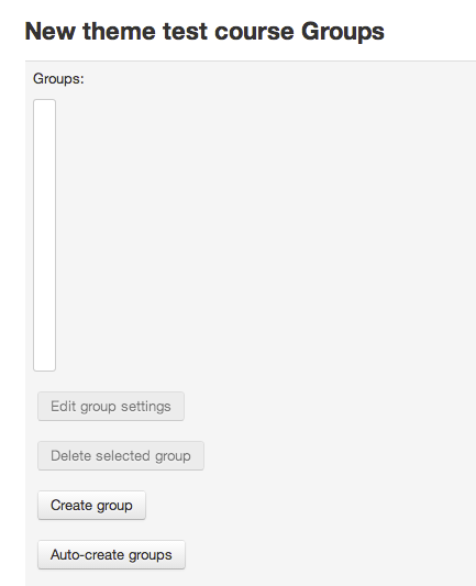 An image of the groups creation prompt.