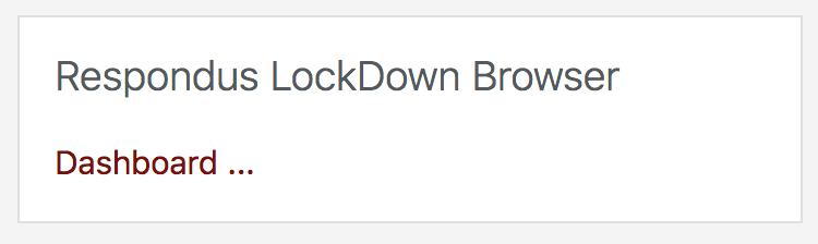 respondus block