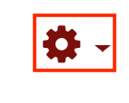 An image of the gear icon, circled.