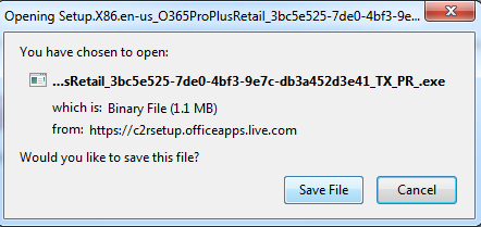 An image of the save file prompt.