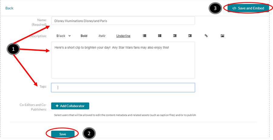 An image of the details page to fill out.